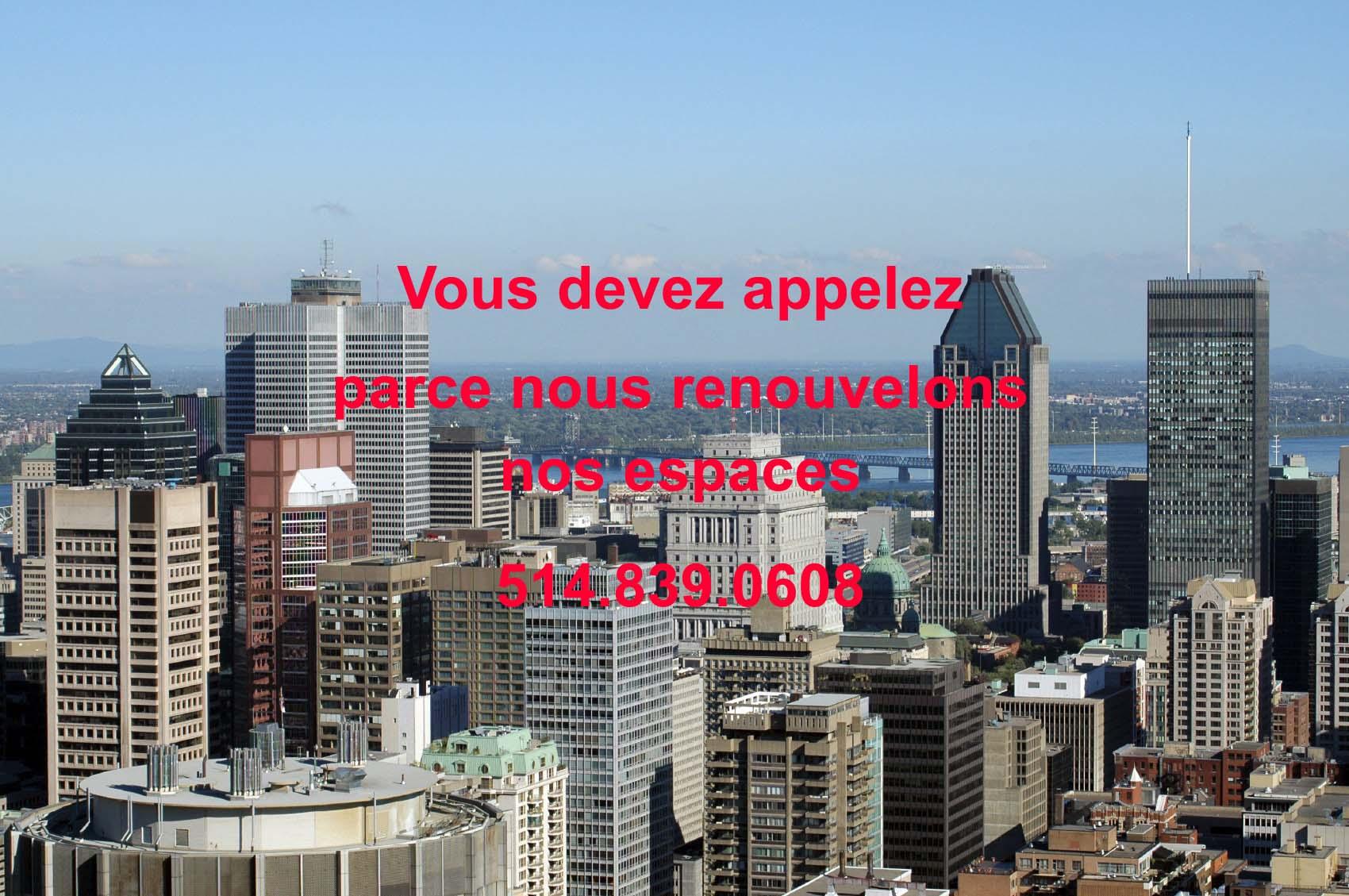 Location bureau montreal centre ville - Piscine interieure anjou montreal lille ...